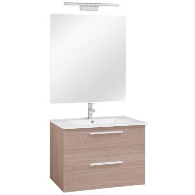 80 FPF szekrény+mosdóval Szines fronttal